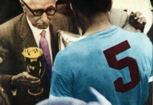 Em 19950, o Uruguai levantou a taça